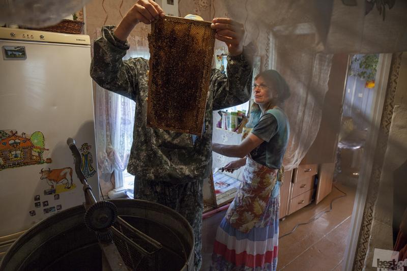 мед качали
