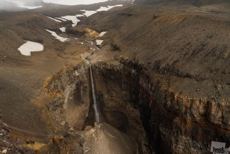Камчатка. Водопад Опасный