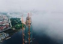 Строительство Лахта-центра