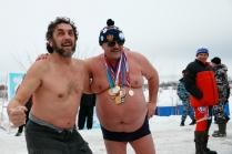 Ветераны зимних купаний