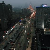 Трафик вечернего Арбата