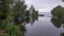Осенняя рыбалка в устье реки Трубеж