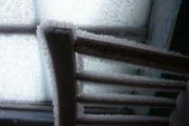 суровая зима в Сибири