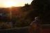 Закат на горе