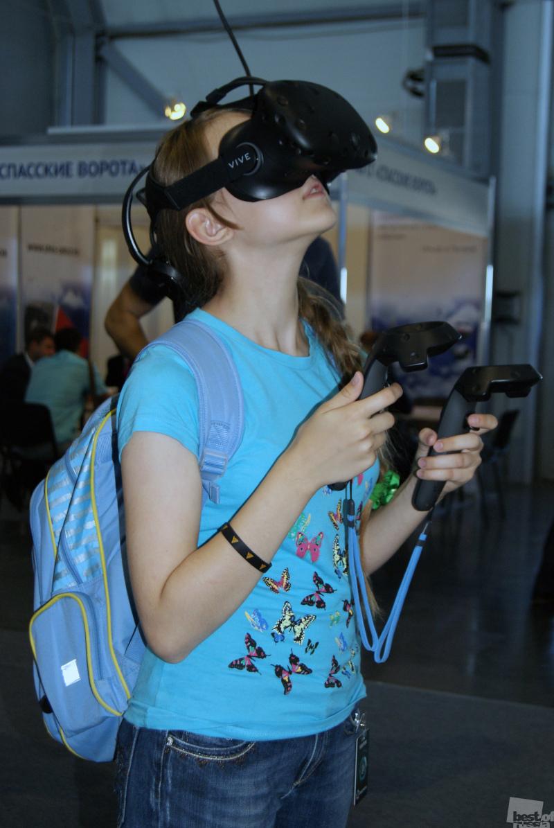 А что там, в виртуальной реальности?