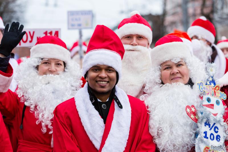 Дед Мороз из Индии