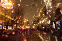 Новогодний дождь