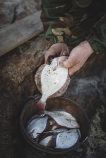Рыбалка в деревне Нюхча
