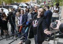 Оглашение приговора блогеру А.Носику по делу об экстремизме в Москве