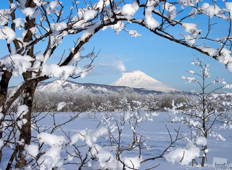 Камчатская зима