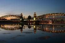 Мост Петра Великого. С-Петербург.