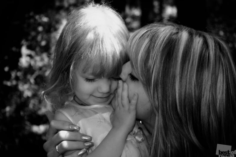 поцелуй мамочки