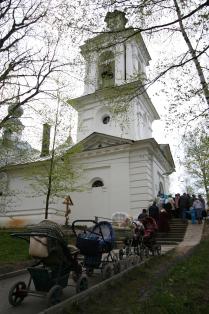 Весна в Белозерске, весна в России