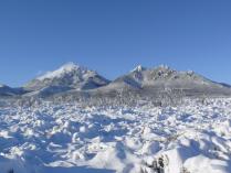 Зима на горе Бештау