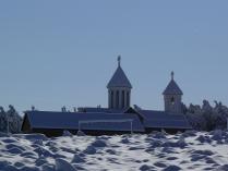 Часовенка у подножия горы Бештау