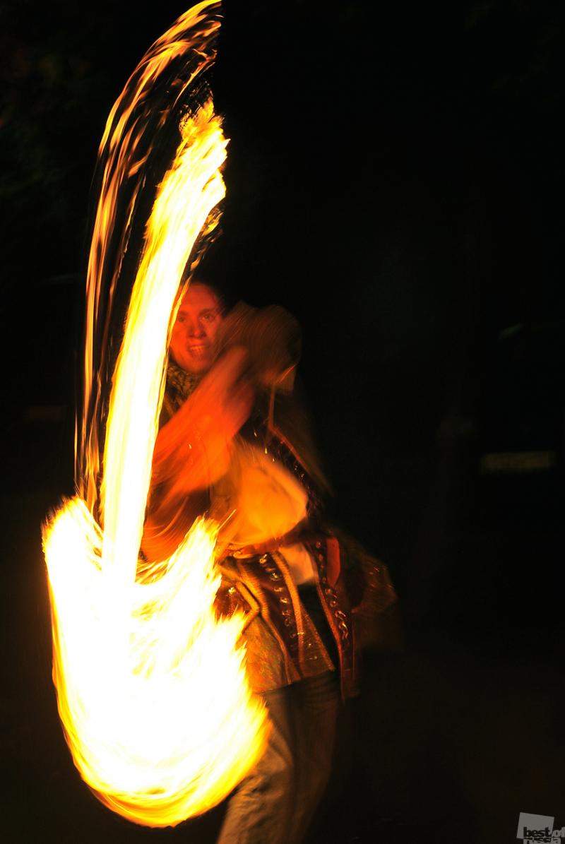 Огненный рок-н-ролл или музыка из огня