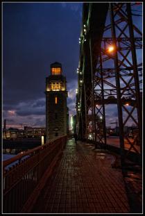 Большеохтинский мост. Санкт-Петербург