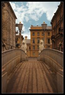 Львиный мост. Санкт-Петербург