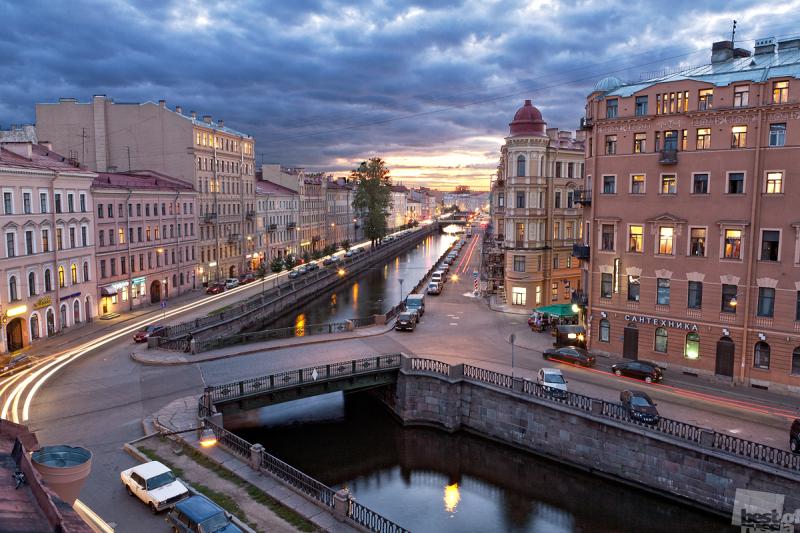 Сумерки на канале Грибоедова