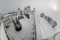 Ростов Великий, зима, Спасо-Яковлевский монастырь