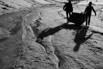 Пикник на весеннем льду