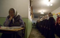 в монастырской школе