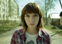 Портрет девушки весной