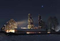 Ночь в деревне Турочак