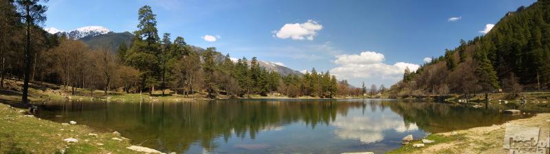 Озеро в Теберде