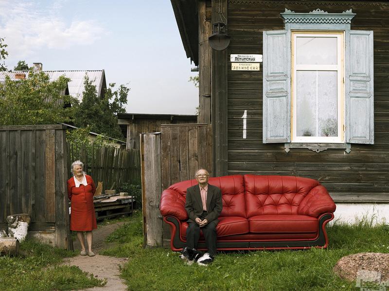 Путешествие дивана по России -5