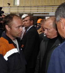 Премьер-министр РФ прибыл на Саяно-Шушенскую ГЭС