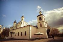 Церковь Живоначальной троицы в селе Хорошеве