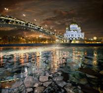 Цветопредставление на Москва-реке