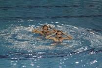 Синхронное плавание.