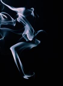 живой дым