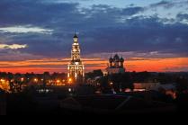 Старинный русский город...