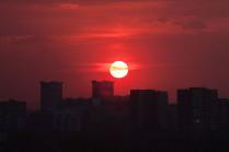Закат над Аминьево
