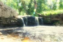 Водопад на реке Саблинка