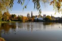 Осень в Новодевичьем монастыре