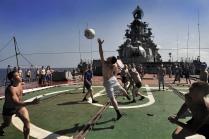 Волейбол на палубе