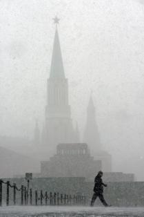 Белое на Красной площади