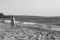 Осень на пляже