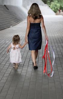 Маленькая и Мама