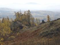 Осенью на Потаниных горах