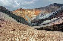 Мутновский кратер.