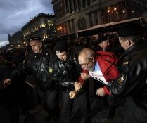 Акция День гнева прошла в Москве