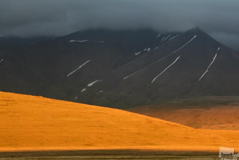 Закат над плато Укок