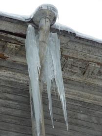 Зимний ангел Елагина острова