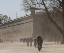 Песчаная буря у стен Петропавловской крепости