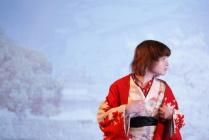 Девочка в кимоно